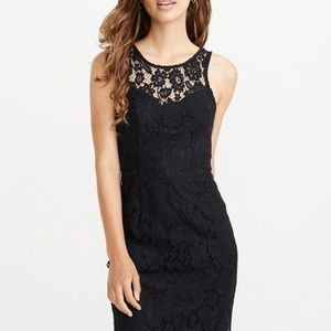 Abercrombie & Fitch Cranberry Lace Bodycon Dress